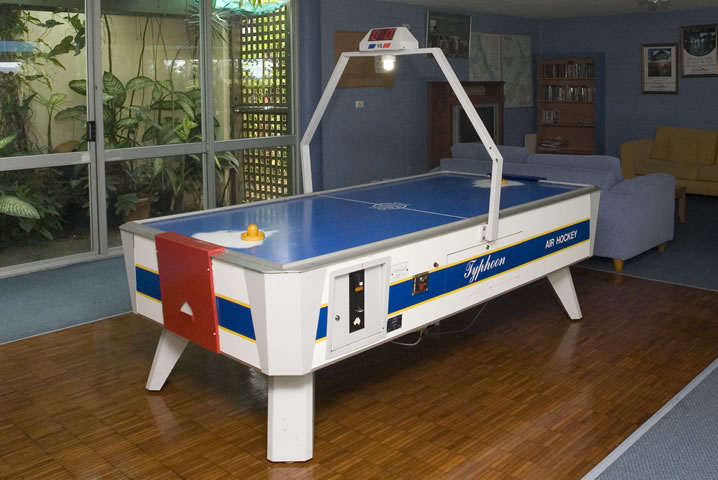 Recreation Room featuring an Air Hockey table.